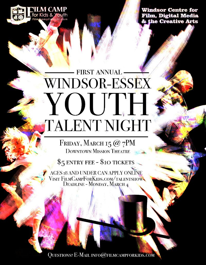 Windsor Essex: Seeking Local Talent For Windsor-Essex Youth